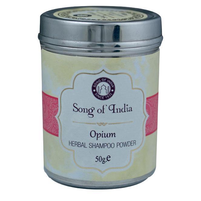 Opium Flower Shampoo Powder.