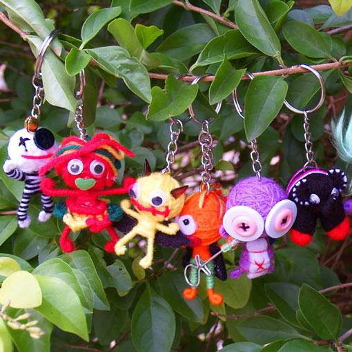 Little Friends Key Rings - 6 Pack