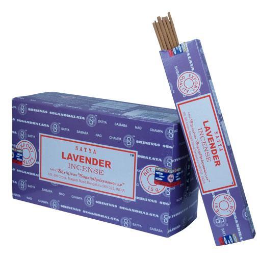 Satya Lavender 12 x 15 gram