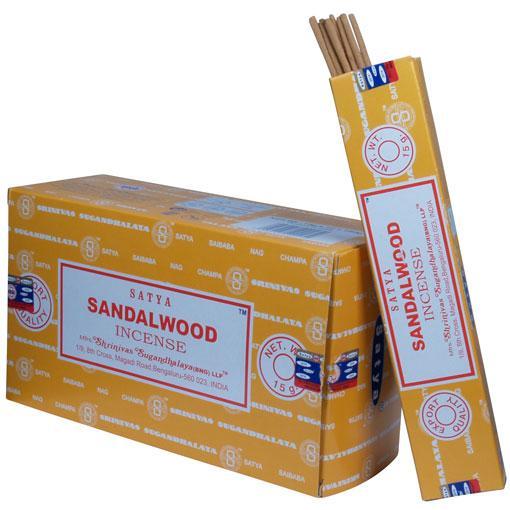 Satya Sandalwood 12 x 15 gram