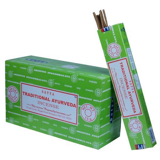 Satya Tradition Ayurveda 12 x 15 gram