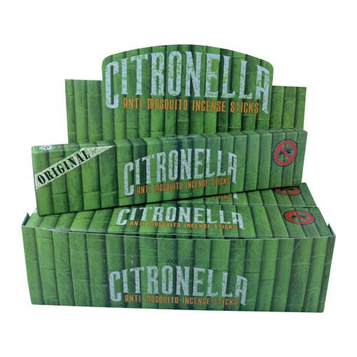 Anti Mosquito Citronella Incense 12 x 15 gram