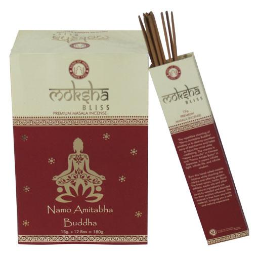 Moksha Bliss Masala Incense 12 x 15 gram