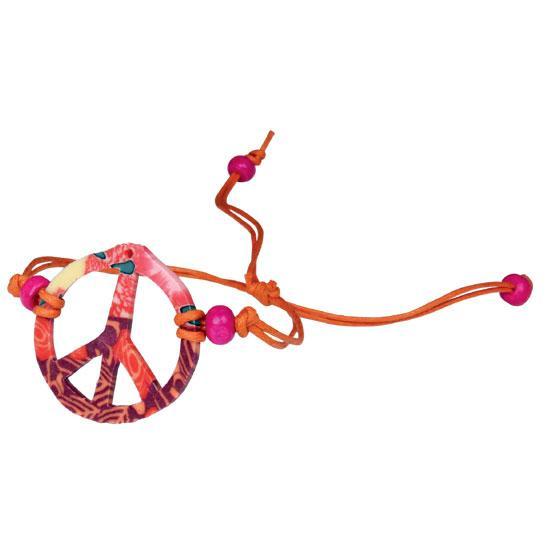 Fimo Peace Bracelet