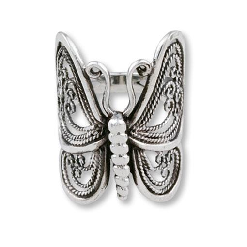 Butterfly Ring - Filigree