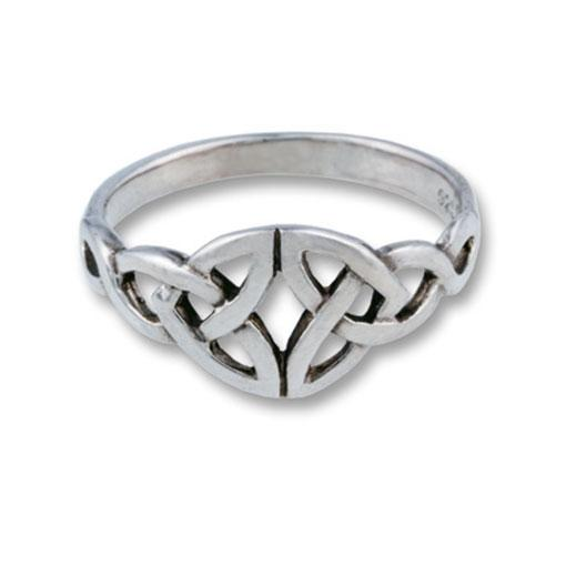 Sterling Silver Tiquetra Ring