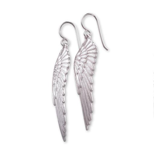 Angel Wing Earrings Large