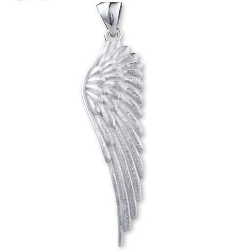 Sterling Silver Large Wing Pendant