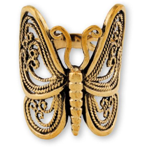 Filigree Butterfly Ring large