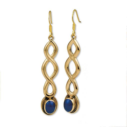 Gypsy Gold Drop Earrings