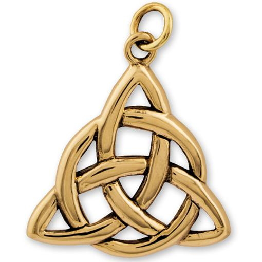 Gypsy Gold Triquetra Pendant online - Elanora Australia