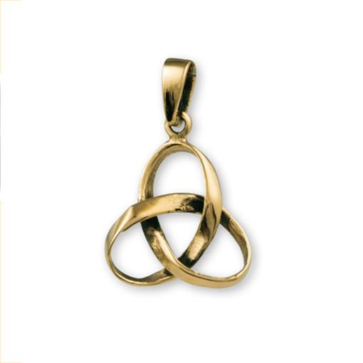 Gypsy Gold Triquetra Pendant