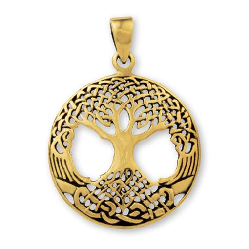 Gypsy Gold Tree Of Life Pendant