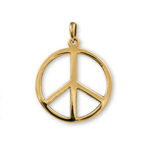 Peace Bronze Pendant