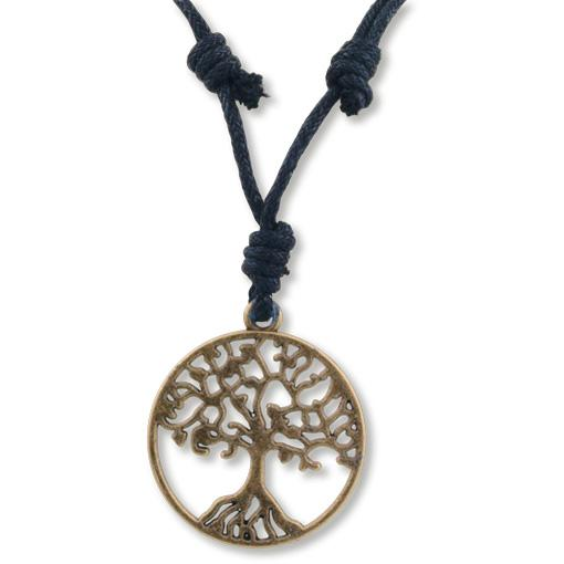 Brass Tree of Life Necklace - 10 pack