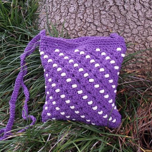 'Amelia' Crochet Bag
