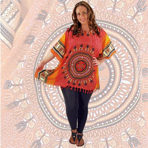 Native Print Kaftan