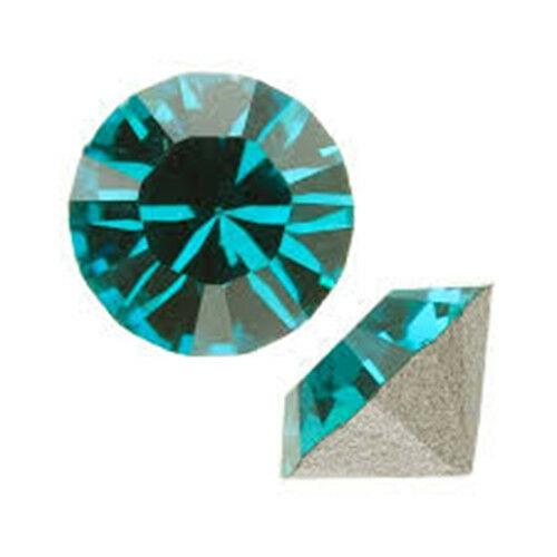 Swarovski Crystals 8mm Round Pointed Back - 10pcs