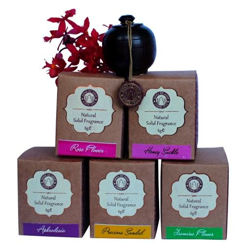 Song of India- Solid Perfume- Rosewood