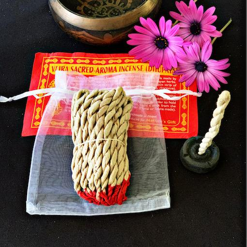 Vajra Sacred-Aroma Rope Incense- Gift Pack