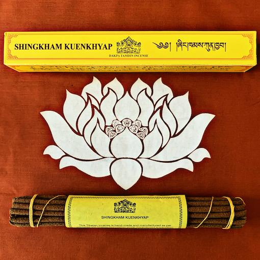 Shingkham Kuenkhyap (World of the Buddha)- Temple Incense