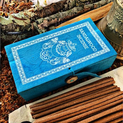 Sandalwood Incense- Lokta Paper Box