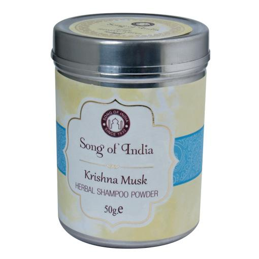 Krishna Musk Shampoo Powder.