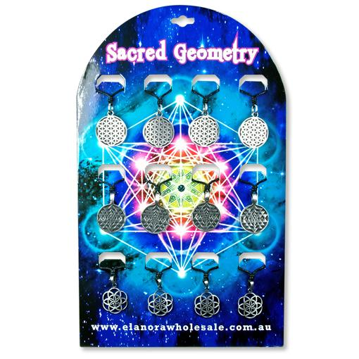 Sacred Geometry Pendant 12 pcs