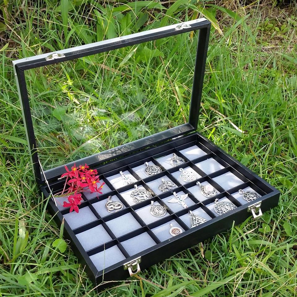 Jewellery Display Organizer Box