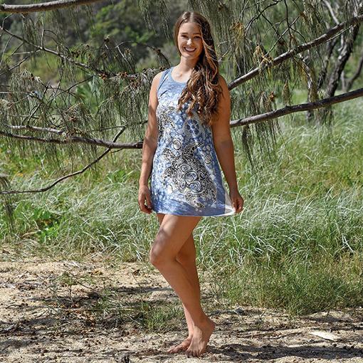 Turtle Short Dress