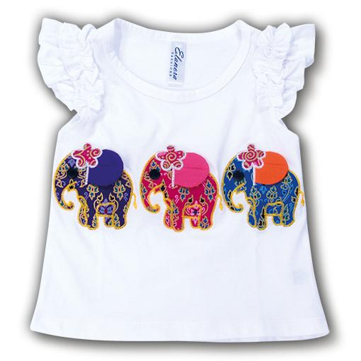 Elephant Girls Top