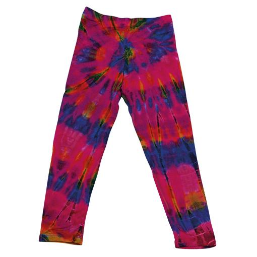Kids Tie Dyed Tights