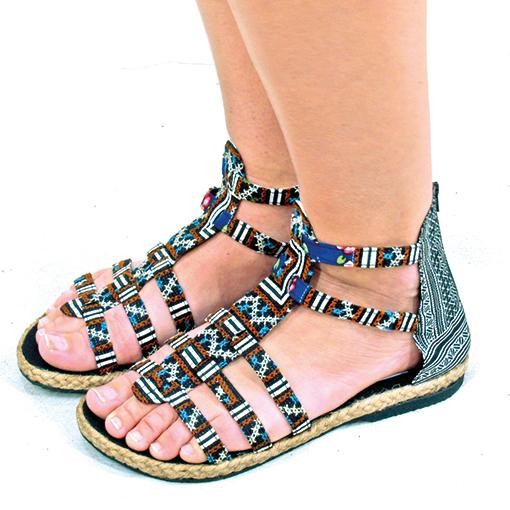 Midnight Sandals