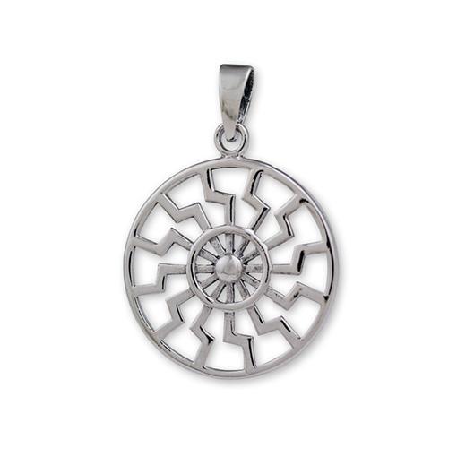 Pagan Sun Wheel Pendant