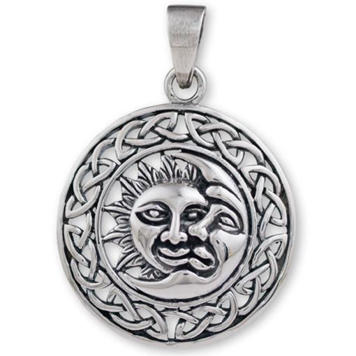 Celtic Sun & Moon Pendant