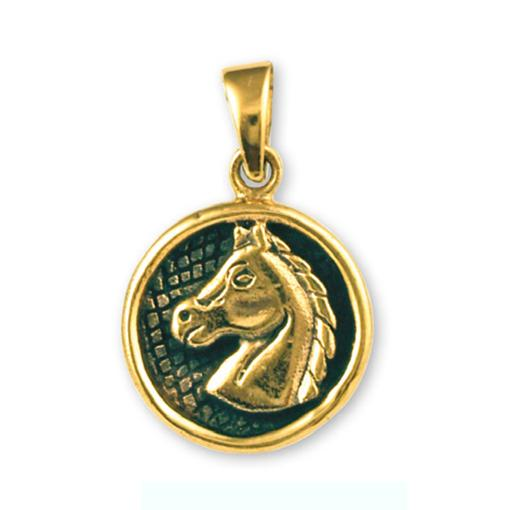 Gypsy Gold Horse Pendant