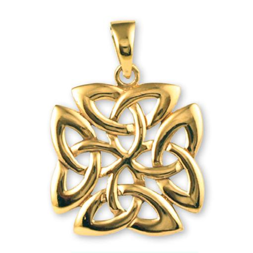 Gypsy Gold Triquetra Trinity Knot Pendant