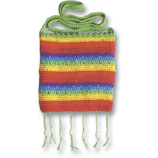 Medium Rainbow Bag with Zipper