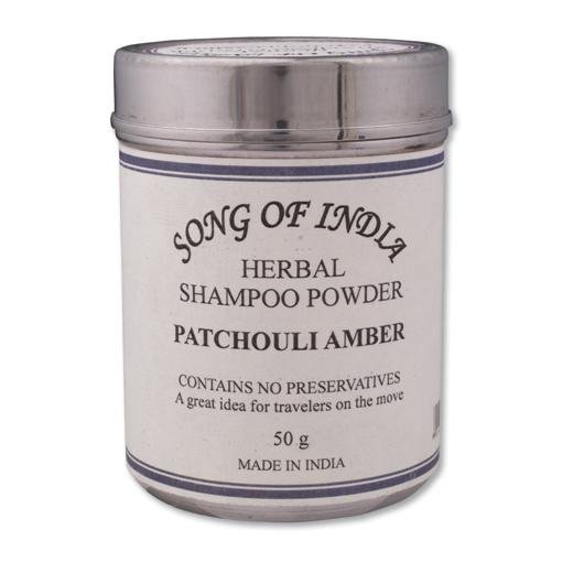 Patchouli Amber Shampoo Powder