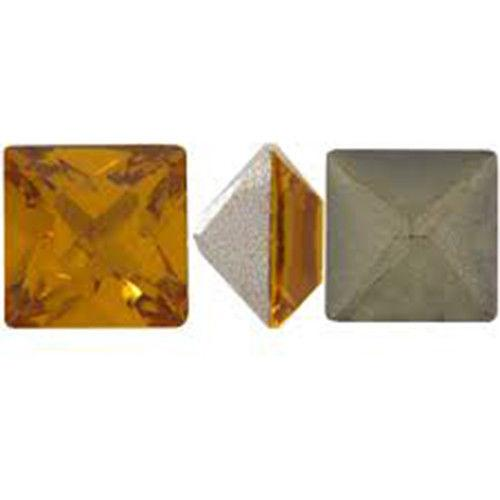 Swarovski crystals 8mm Square Pointed Back - 10pcs