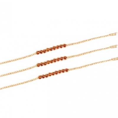 Orange Dream Beads Energy (pack of 10)