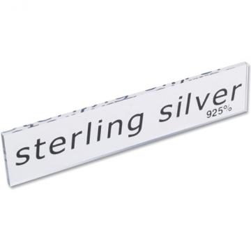 Sterling Silver Perspex Sign