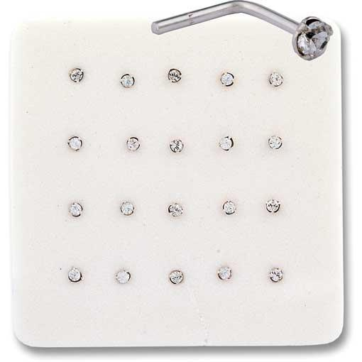 Crystal Nose Pins