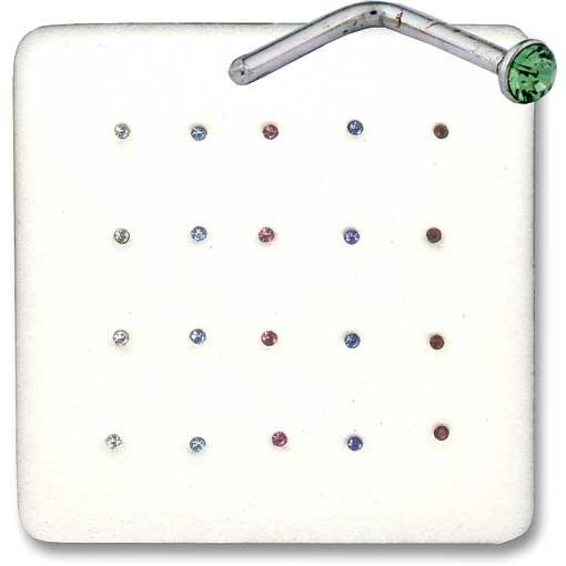 Assorted Elbow Back Nose Pins