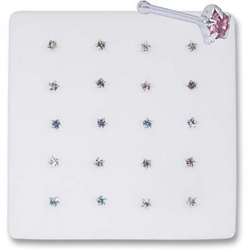 Star Assorted Nose Pins