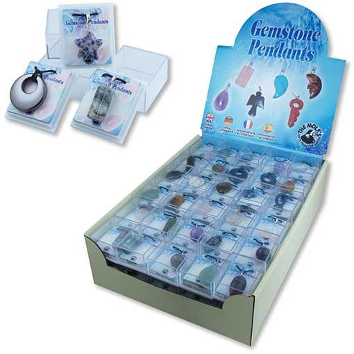 Crystal Pendants Retailer Display Box - 90 Pieces